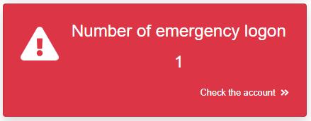 Emergency logon