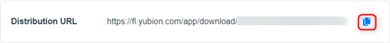 distribution URL