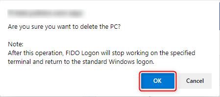 Delete PC